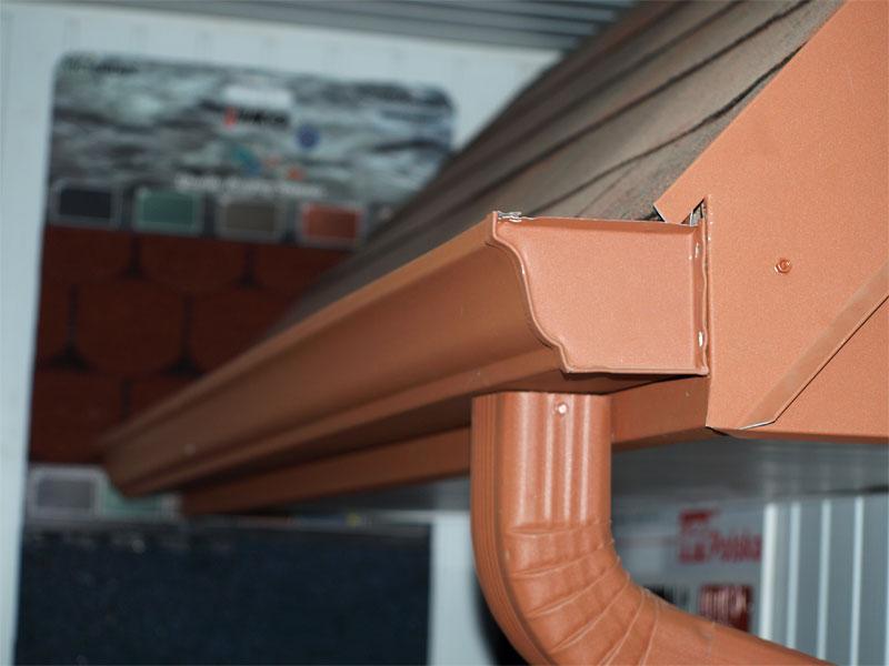 Oglądasz obraz z: Rynny DTC, system rynien ciągłych, Rynny ciągłe dachowe bez łączeń.